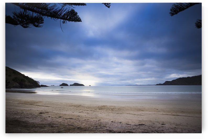 Beachfront camping in Matauri Bay; Northland, New Zealand by PacificStock