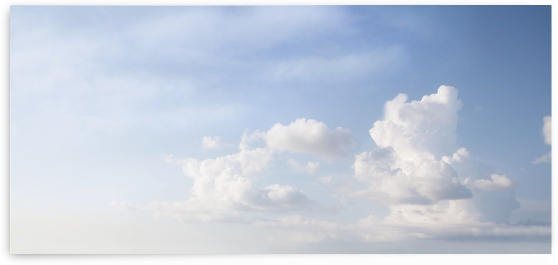 Clouds in a blue sky; Toronto, Ontario, Canada by PacificStock