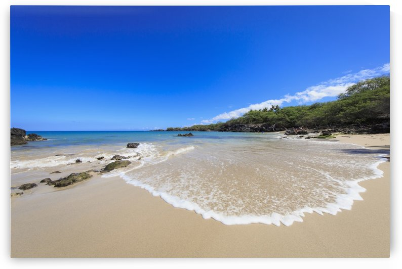 Wailua Beach, known locally as Beach 69; Kohala, Island of Hawaii, Hawaii, United States of America by PacificStock