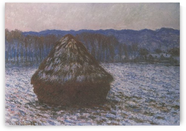 Haystacks -2- by Monet by Monet