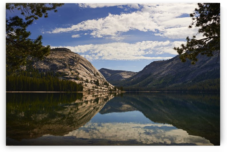 View of Tenaya Lake along Tioga Pass, Yosemite National Park; California, United States of America by PacificStock