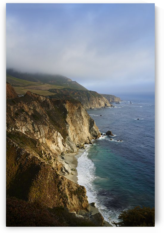 California coastline along state route 1 and the pacific ocean; California, United States of America by PacificStock
