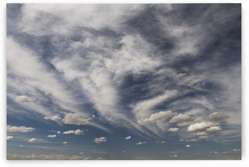 Blue sky with cloud; Palouse, Washington, United States of America by PacificStock