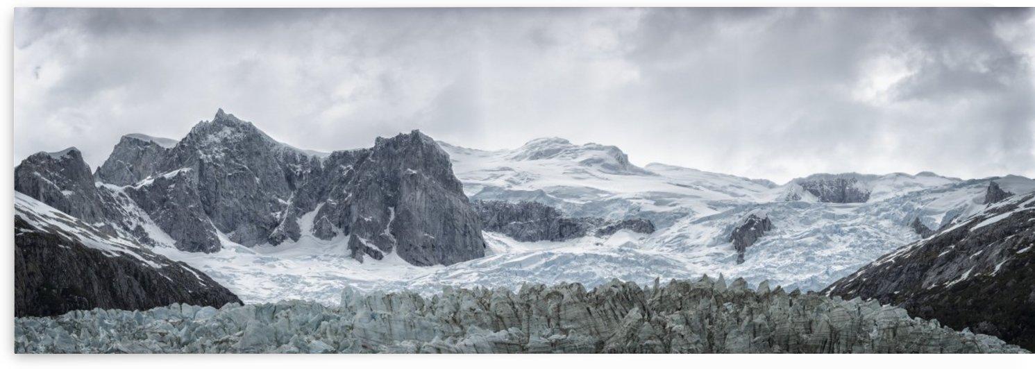 Pia Glacier in the Pia Fjord of the Beagle Channel in Tierra del Fuego; Chile by PacificStock