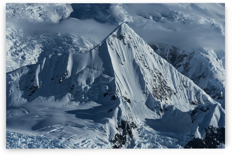 Snow covered peaks of the Antarctic mountains, Wilhelmina Bay, Antarctic Peninsula; Antarctica by PacificStock