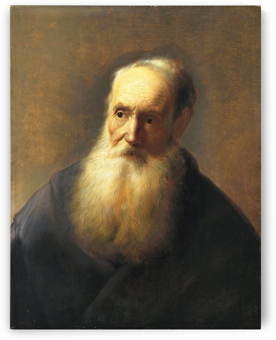 An old man with a long beard by Jan Lievens