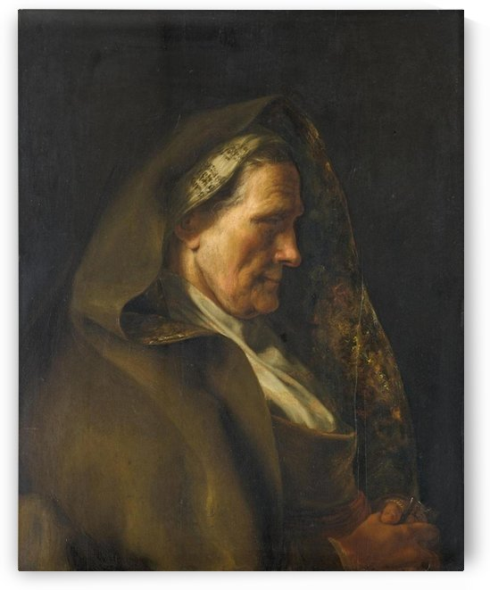 Tronie of an Old Woman by Jan Lievens