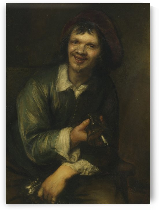 Portret van Jan Andrea Lievens als zinnebeeld by Jan Lievens