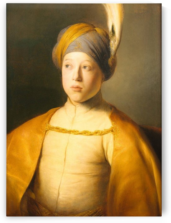 An elegant man by Jan Lievens