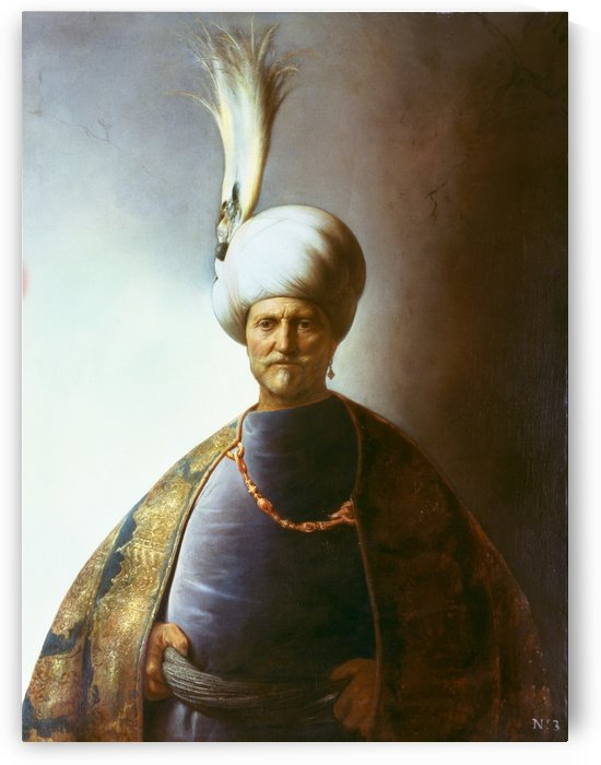 Sultan Soliman by Jan Lievens