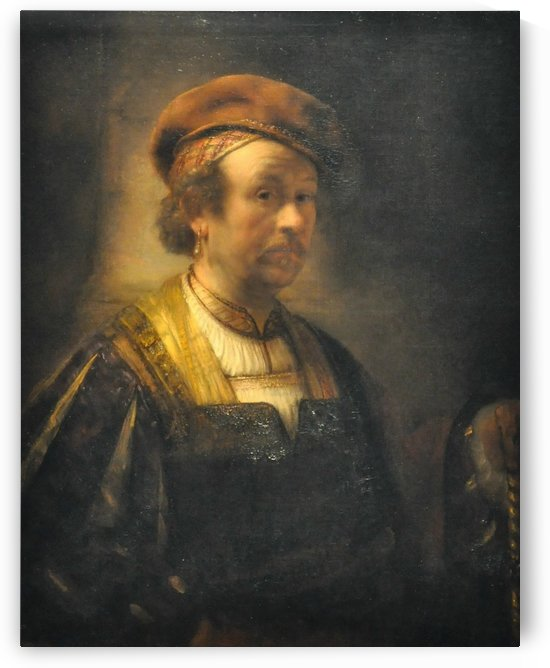 A man with beret by Jan Lievens