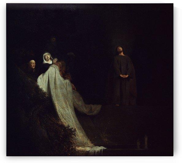 Opwekking van Lazarus by Jan Lievens