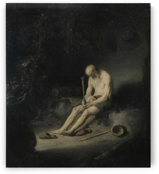 St Jerome as a Hermit by Jan Lievens