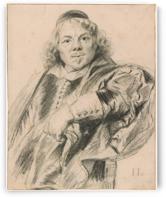 Schetch of a young man by Jan Lievens