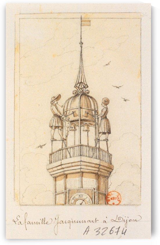 La Famille Jacquemart a Dijon by Adrien Dauzats