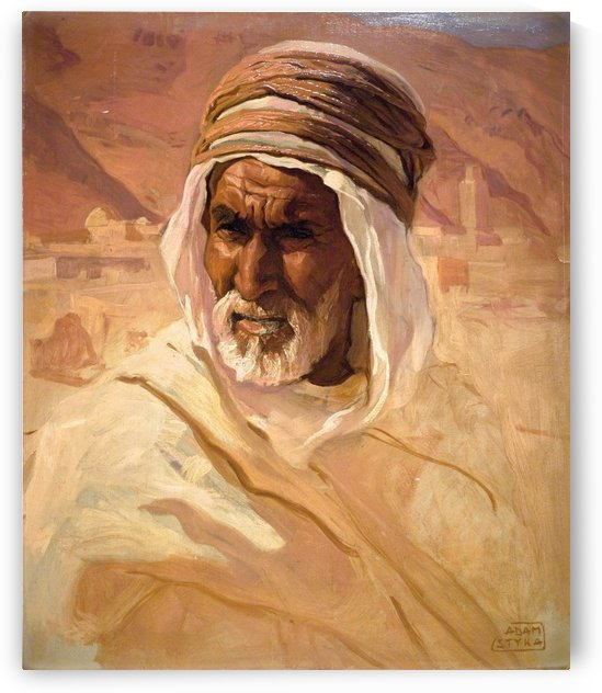 A North African Man by Leopold Alphons Mielich