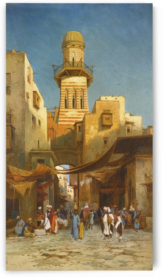 La Megdeleine 1880 by Leopold Alphons Mielich