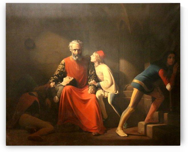 Ugolin et ses fils by Emile Lecomte-Vernet