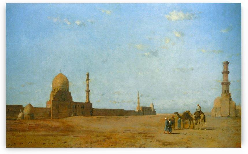 Les Tombeaux Des Califes Au Caire by Eugene Fromentin