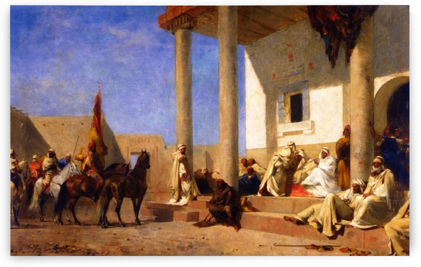 Audience in a Caliphate by Eugene Fromentin