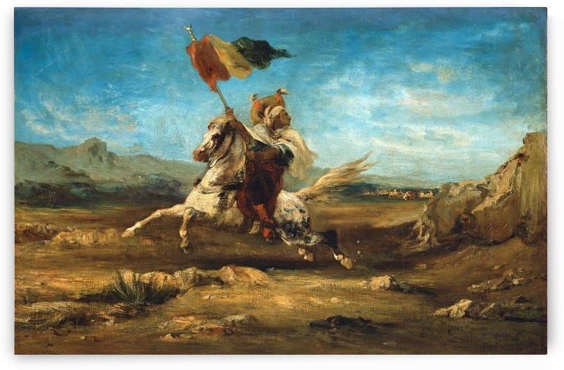 Standar Bearer by Eugene Fromentin