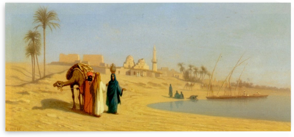 The Banks of the Nile by Eugene Fromentin