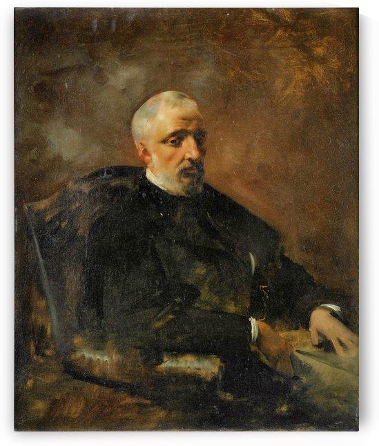 Portrait d'Armand du Mesnil by Eugene Fromentin