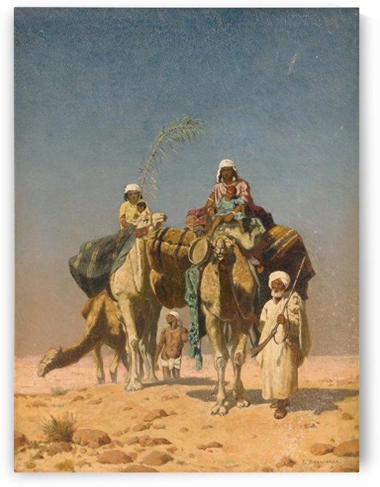 Karawane by Edmund Berninger