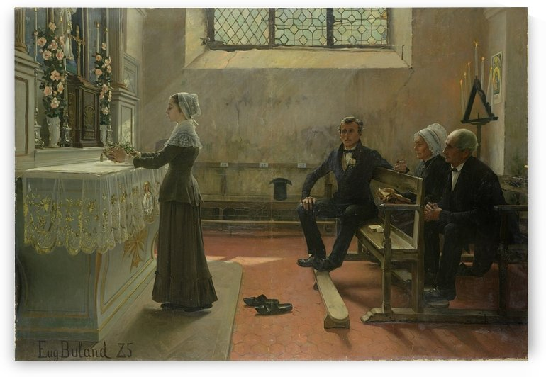 L'offrande by Jean-Eugene Buland