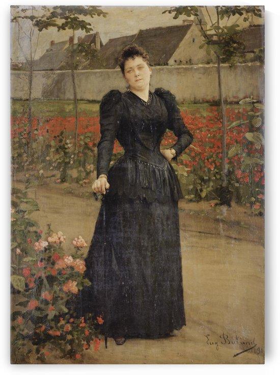 Une promenade sur le parc (1891) by Jean-Eugene Buland