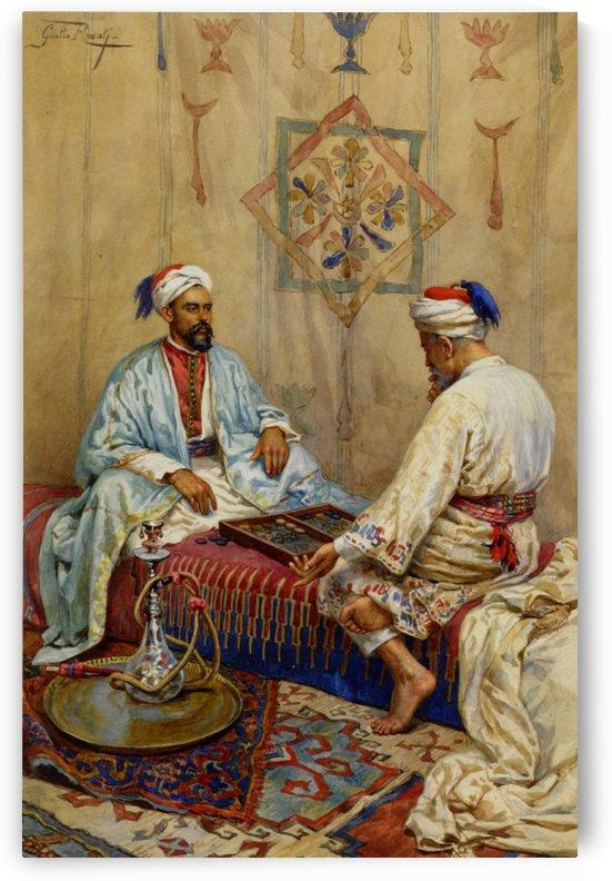 The Game of Tavli by Giulio Rosati