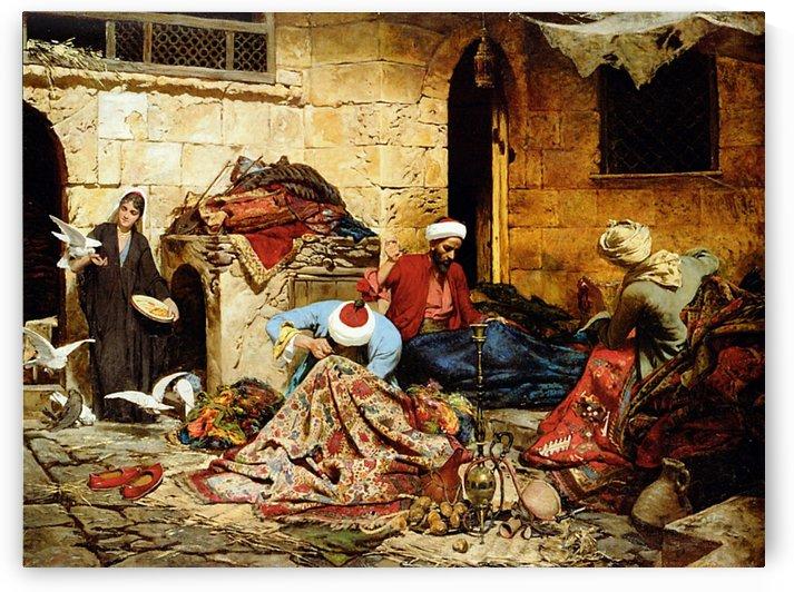 Swoboda carpet menders by Giulio Rosati