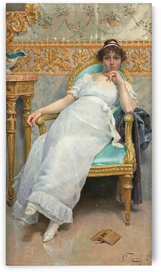 Contemplation, 1896 by Giulio Rosati