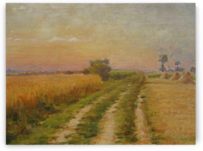 Landscape in Flanders by Cesar Pattein