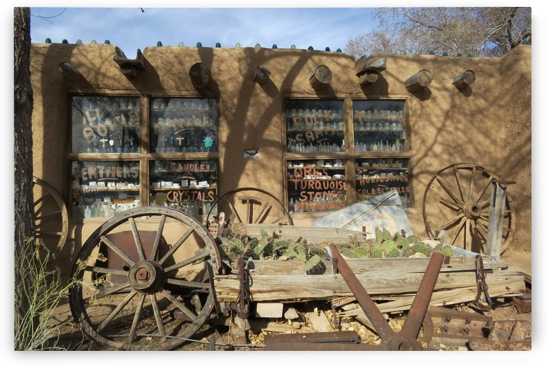 Turquoise Trail - Store in Cerrillos 3VP by Vicki Polin