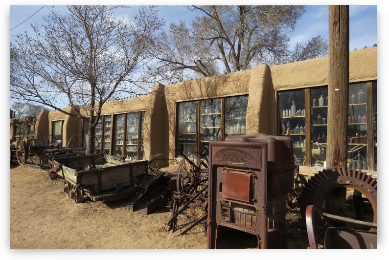 Turquoise Trail - Store in Cerrillos 2VP by Vicki Polin