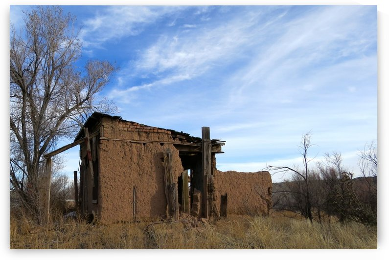 Turquoise Trail - Ruins in Golden 2VP by Vicki Polin
