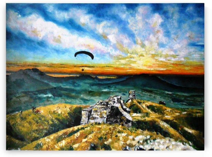 Paragliding by Ildikó Csegöldi Décsei