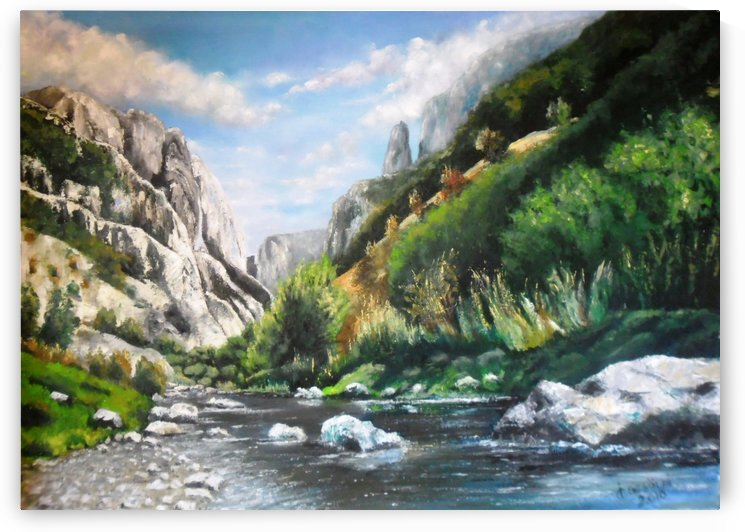 Torda-Gorge by Ildikó Csegöldi Décsei