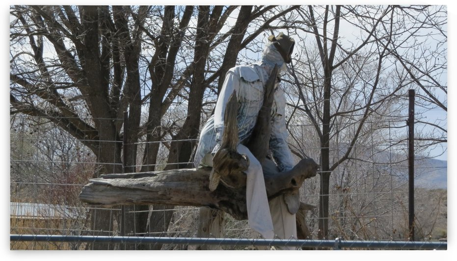 Sculpture off the Camino Real 1VP by Vicki Polin
