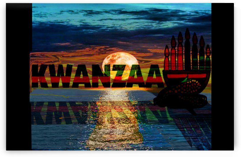 Reflection of Kwanzaa  by Gloria Racine