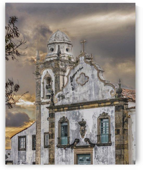 Exterior Facade Antique Colonial Church Olinda Brazil by Daniel Ferreia Leites Ciccarino