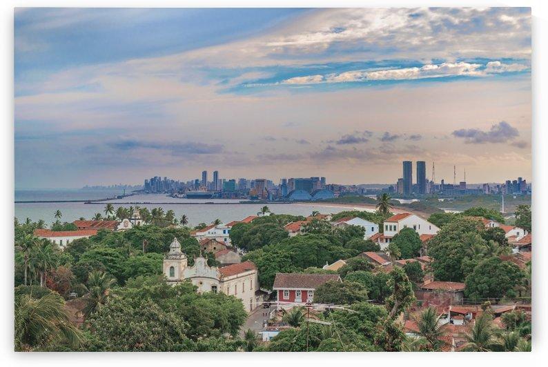 Aerial View of Olinda and Recife, Pernambuco Brazil by Daniel Ferreia Leites Ciccarino