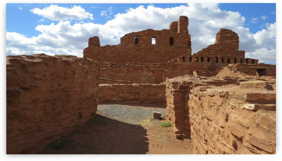 Ruins of the Abo Pueblo VP11 by Vicki Polin