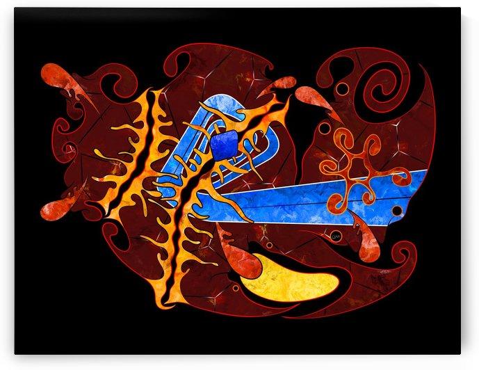 Visonorph V2 - digital abstract by Cersatti Art