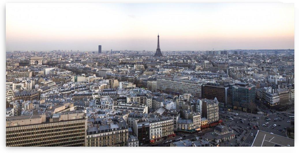 Panoramic of Paris by Pixelme ca
