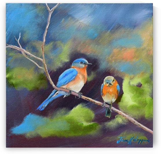 BlueBirds - Soul Mates by Jan Kornegay Dappen