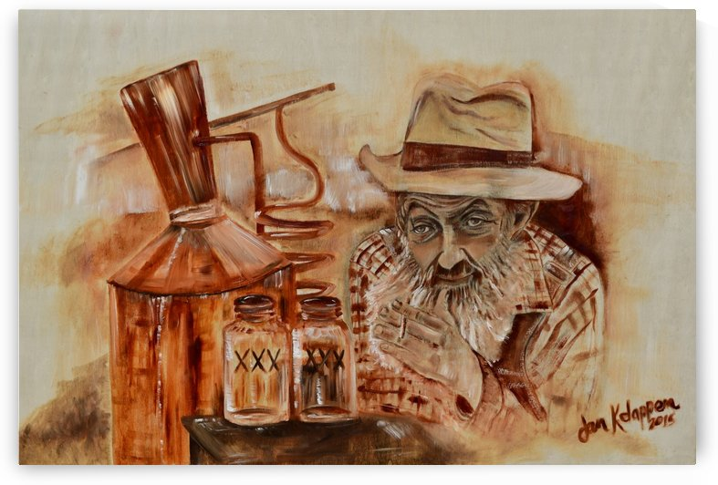Popcorn Sutton - Coppershine by Jan Kornegay Dappen