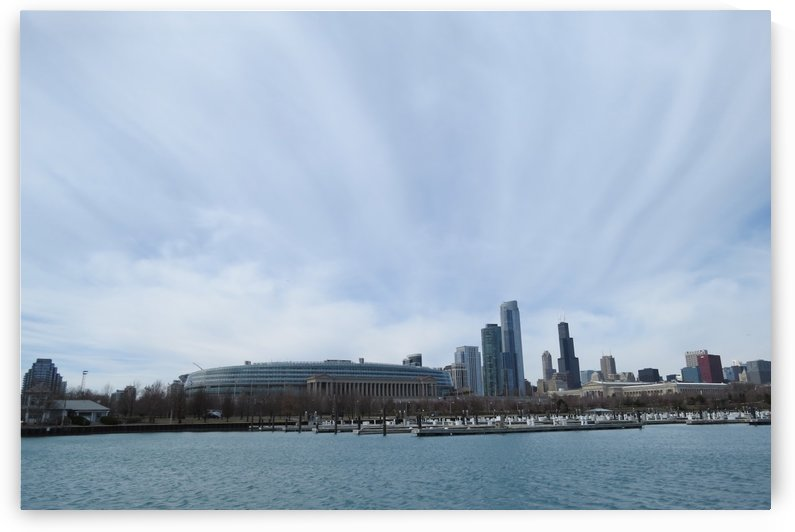 View of Chicago from Northerly Island VP3 by Vicki Polin