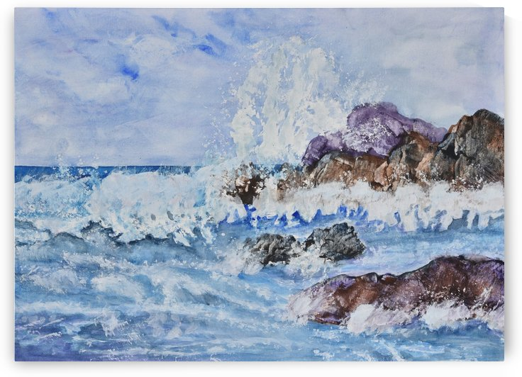 Crashing Wave III by Linda Brody